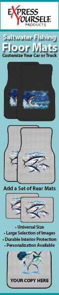 Saltwater Fish Car Mats