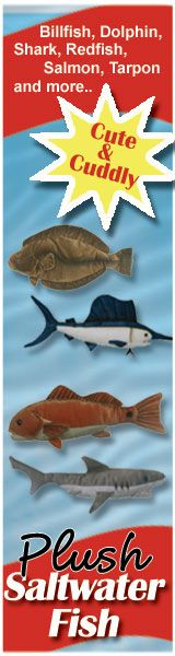 Plush Saltwater Fish